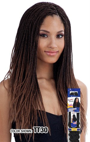 Freetress Micro Senegalese Twist,  Synthetic Braids