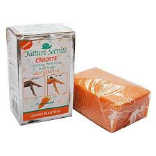 Nature Secrete Carrot Soap 180g