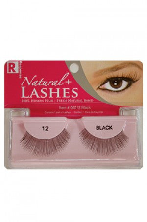 I-Lashes 100% Human Hair Eyelashes  #12 Black