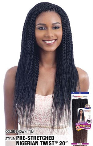 Freetress 2X Nigerian Pre-Stretched Braid