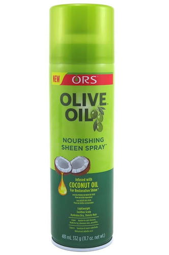 Olive Oil Sheen Spray infused with Coconut Oil (11.7oz)