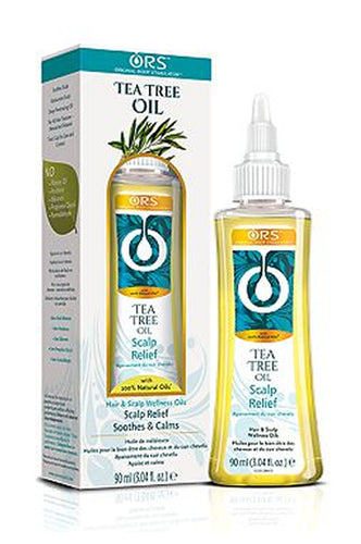 ORS 100% Natural Hair & Scalp Tea Tree Oil 3.04oz