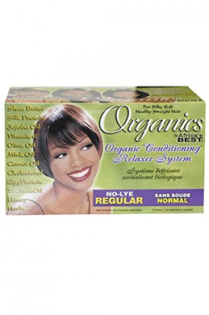 Organics Conditioning Relaxer System Regular