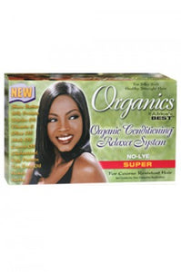 Organics Conditioning Relaxer System Super