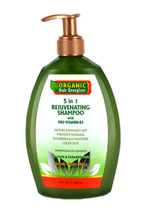 Organic Hair Energizer 5 in 1 Shampoo 13oz