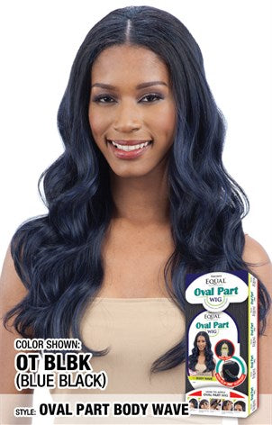 Freetress Equal Oval Part Body Wavy, Synthetic Hair Wig