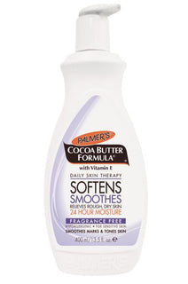 PALMERS Cocoa Butter Fragrance Free Lotion Pump 13.5oz