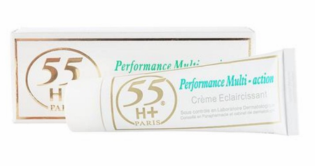 55 H+ Performance Multi-Action Strong Bleaching Cream 50ml / 1.7 oz
