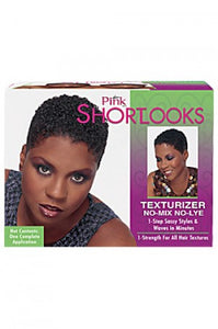 Pink Shortlooks Texturizing Kit
