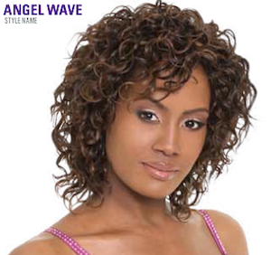 "Premium Short Series Angel Wave 8"", 100% Human Hair"