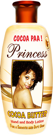 Princess Cocoa Butter Body and Hand Lotion Cocoa Paa 400ml