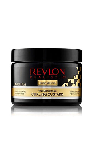 Revlon Black Seed Oil Natural Strengthening Curling Custard 10.01oz