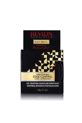 Revlon Black Seed Oil Natural Strengthening Edge Gel (2oz)