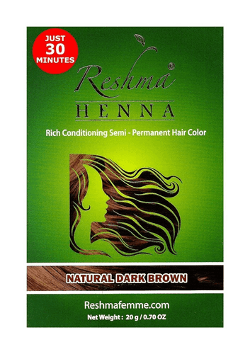 Reshma Beauty Reshma 30 Minute Henna Hair Color 1.05 Oz Natural Dark