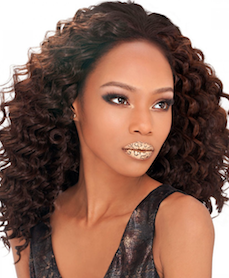 "Sol Deep Wave 12"", 100% Human Hair Mix"