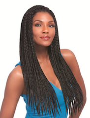 Senegal Full Braids Wig, Synthetic Wig