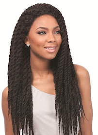 Senegal Locks Braids Wig, Synthetic Wig