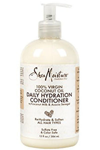 100% Virgin Coconut Oil Daily Hydration Conditioner  13oz