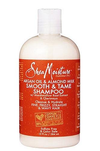 Argan Oil & Almond Milk Smooth & Tame Shampoo 13oz
