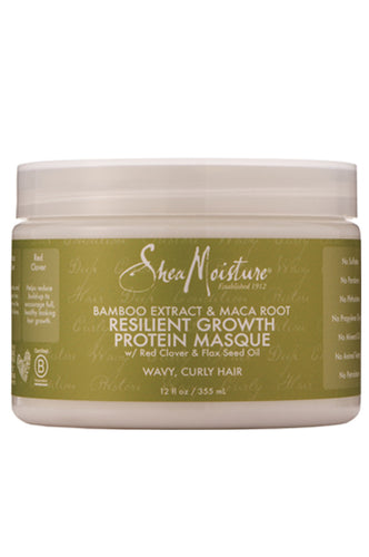 Shea Moisture Bamboo & Maca Root Protein Masque 12oz