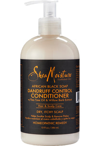Shea Moisture African Black Dandruff Control Conditioner 13oz