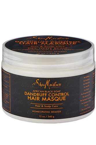 Shea Moisture African Black Dandruff Control Scalp Conditioning Masque (12oz)