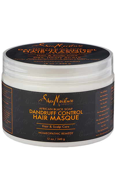 Shea Moisture African Black Dandruff Control Scalp Conditioning Masque 12oz