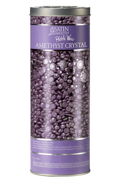 Satin Smooth Pubble Hard Wax Amethyst Crystal 23oz/650g, Spa