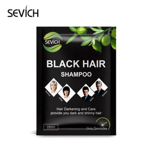Sevich Hair Dye Hair Black Shampoo 25ml