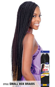Freetress Small Box Braids,  Synthetic Braids