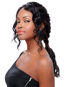 Front Lace Wig Edge Saphire, Synthetic Hair Wig