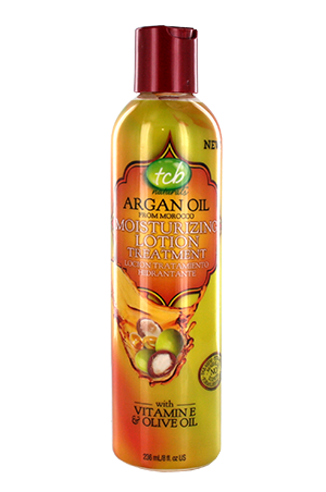 TCB Argan Oil Moisturizing Lotion 8oz