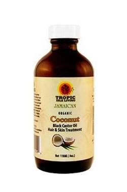 Tropic Isle Living Black Castor Oil[Coconut] 4oz