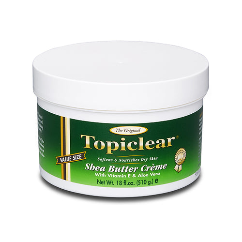 Topiclear Gold Shea Butter Cream Jar 18 oz