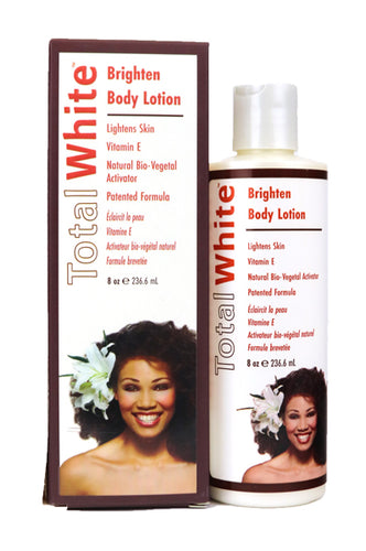 Total White Body Lotion 8oz
