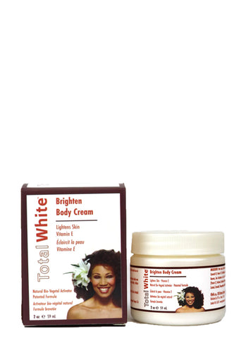 Total White Body Cream 2oz