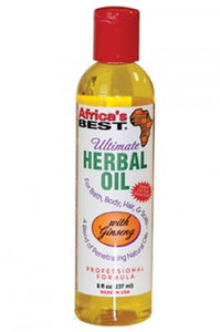 Africa's Best Ultimate Herbal Oil 8oz