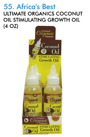 Ultimate Organics Coconut Growth Oil 4oz