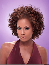 "Premium Short Series Diva Curl 8"", 100% Human Hair"