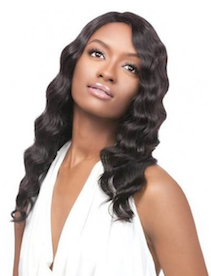 Simply Lace Front Wig Brazilian Natural Deep , 100% Remi Hair Wig
