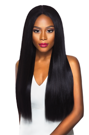 Lace Front Wig Swiss X Vixen Yaki, Synthetic Wig