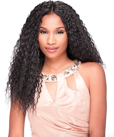 Custom Lace Wig Wet Curly, Synthetic Hair Wig