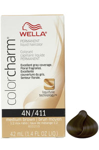 Wella Color Charm Liquid #4N/411 Medium Brown