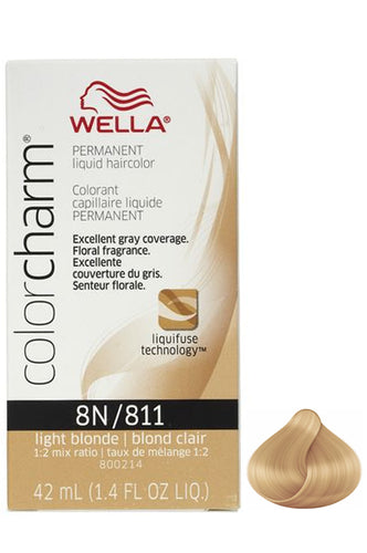 Wella Color Charm Liquid #8N/811 Light Blonde