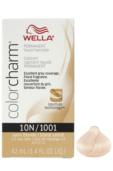 Wella Color Charm Liquid #10N/1001 Satin Blonde