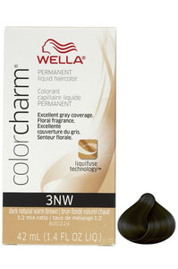 Wella Color Charm Liquid #3NW Dark Natural Warm Brown