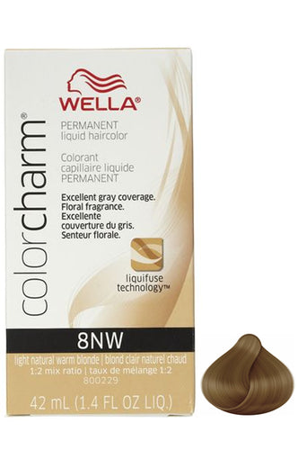 Wella Color Charm Liquid #8NW Light Natural Warm Blonde