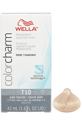 Wella Color Charm Liquid Toner #T10 Pale Blonde