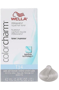 Wella Color Charm Liquid Toner #T14 Pale Ash Blone