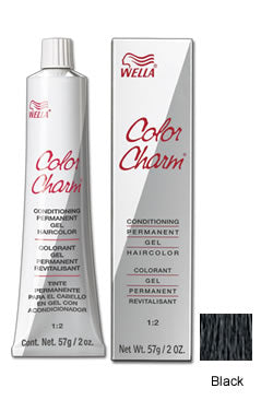 Wella Color Charm Gel Tube #1N/051 Black